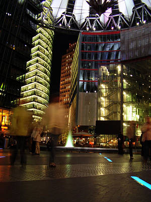 Sony Center Art Print by Flavia Westerwelle