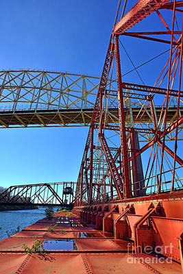 Photograph - Soo Swing Bridge by Joshua McCullough