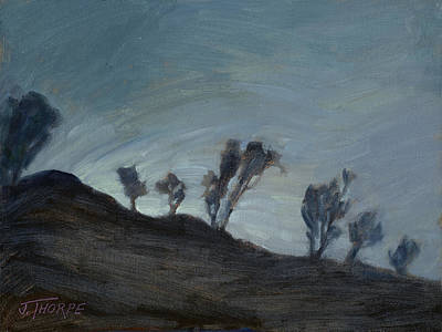 Painting - Soon Coming by Jane Thorpe