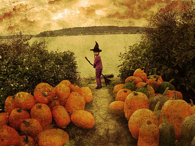 Soon Halloween Art Print by Anastasia Michaels