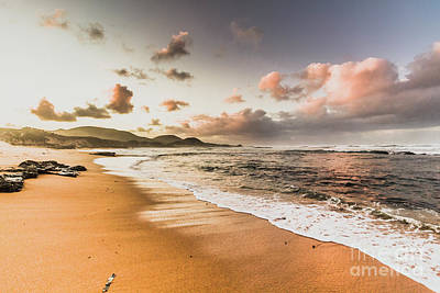 Beach Royalty-Free and Rights-Managed Images - Soothing seaside scene by Jorgo Photography - Wall Art Gallery
