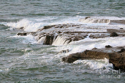 Photograph - Soothing Waves In San Diego by Carol Groenen