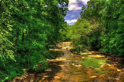 Sope Creek At Paper Mill Road Cobb County Art Art Print