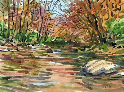 Sope Creek Eleven Art Print by Donald Maier