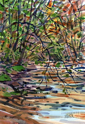 Sope Creek Four Art Print by Donald Maier