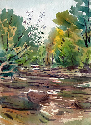 Sope Creek Nine Original by Donald Maier