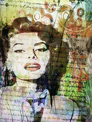 Mixed Media - Sophia by Angela Holmes