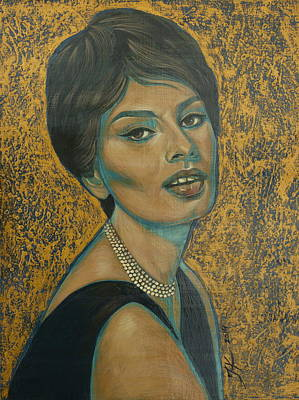 Painting - Sophia Loren by Jovana Kolic