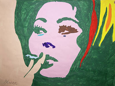 Painting - Sophia Loren by Stormm Bradshaw
