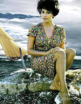 Sophia Loren Original by Thomas Pollart