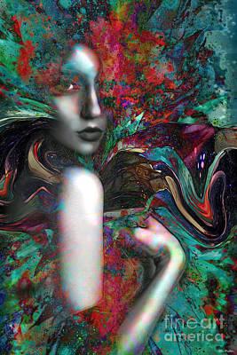 Mixed Media - Sophia by ML Walker