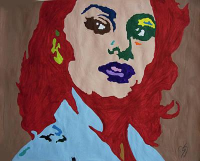 Painting - Sophia by Stormm Bradshaw