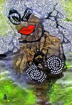 Archetype Painting - Sophia - Goddess Of Wisdom by Tetka Rhu