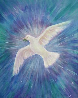 Painting - Sophiapacem by Bernadette Wulf