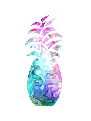 Digital Art - Sophistacated Pineapple by Kathleen Sartoris