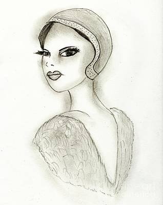 Drawing - Sophistication by Sonya Chalmers