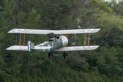 Photograph - Sopwith 1 1/2 Stutter Takes To The Sky by Liza Eckardt