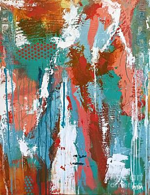 Sorbet Art Print by Mary Mirabal