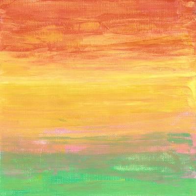 Sorbet Sunset Art Print by Monica Martin
