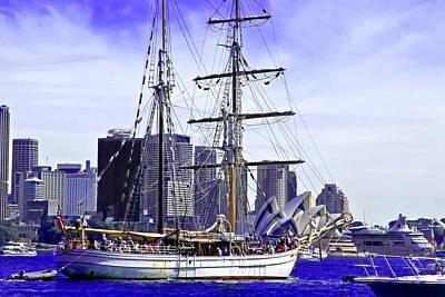 Photograph - Soren Larsen And Sydney Opera House by Miroslava Jurcik