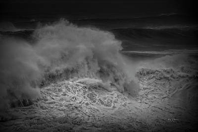 Photograph - Storm Wave by Bill Posner