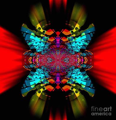 Blue Healer Digital Art - Sorrell Flattershimmer by Raymel Garcia