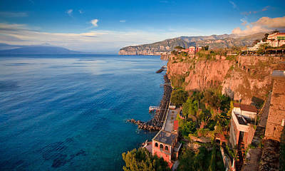 Y120831 Photograph - Sorrento by Albert Tan photo