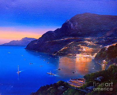 Painting - La Dolce Vita A Sorrento by Rosario Piazza
