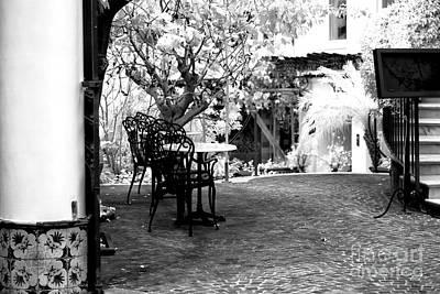 Photograph - Sorrento Courtyard by John Rizzuto
