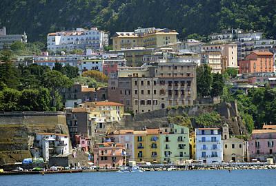 Photograph - Capri's Marina Piccola by Harvey Barrison