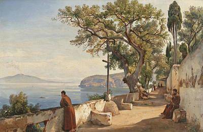 Giacinto Gigante Painting - Sorrento by Giacinto Gigante