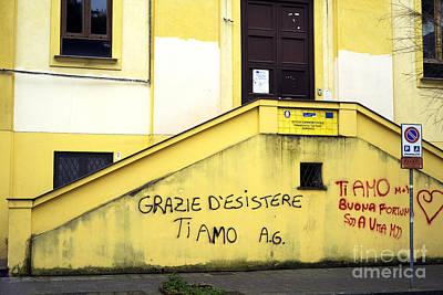 Photograph - Sorrento Graffiti by John Rizzuto