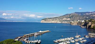 Photograph - Sorrento, Italy, Tranquility by Judith Rhue