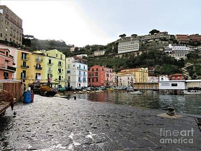Photograph - Sorrento Marina Grande by Laurie Morgan