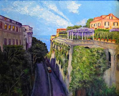Sorrento Mio Art Print by Sandra Nardone