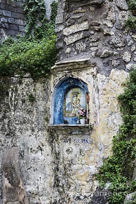 Marian Photograph - Sorrento Shrine by John Greim