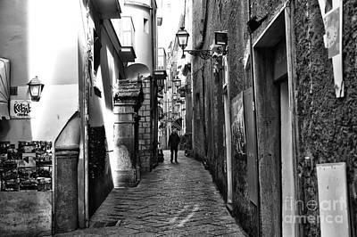 Photograph - Sorrento Street Walk by John Rizzuto