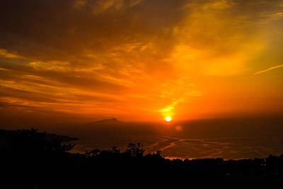 Photograph - Sorrento Sunset by Marilyn Burton