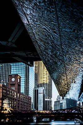Riverwalk Photograph - Sort Of Abstract Look At  Chicago's Riverwalk by Sven Brogren