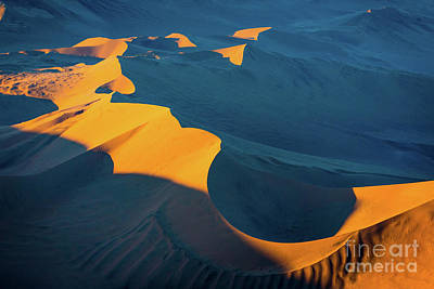Photograph - Sossusvlei Shapes by Inge Johnsson