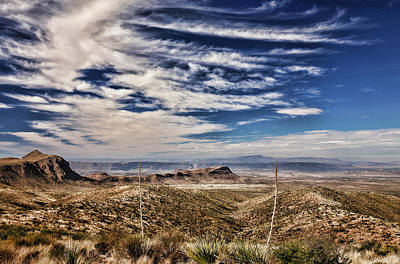 Photograph - Sotol Vista 2 by Judy Vincent