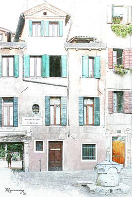 Digital Art - Sottoportego San Rocco by Mariarosa Rockefeller