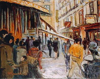 Painting - Souk De Buci by Walter Casaravilla
