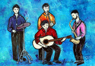 Painting - Soul Brothers by Pristine Cartera Turkus