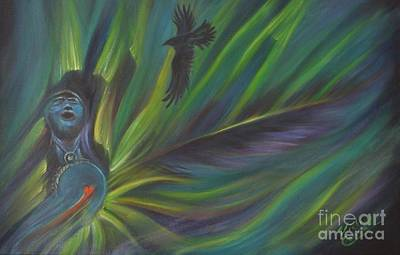 Heartbeat Painting - Soul Cadence by Vicki Caucutt