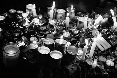 Soul Candles II Art Print