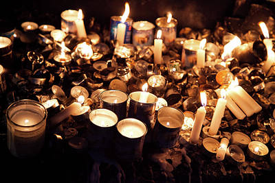 Soul Candles Art Print