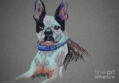 Pastel - Soul Dog by Susan Herber