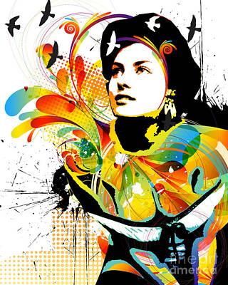 Soul Explosion I Art Print by Chris Andruskiewicz