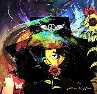 Mixed Media - Soul Garden by Angela Holmes